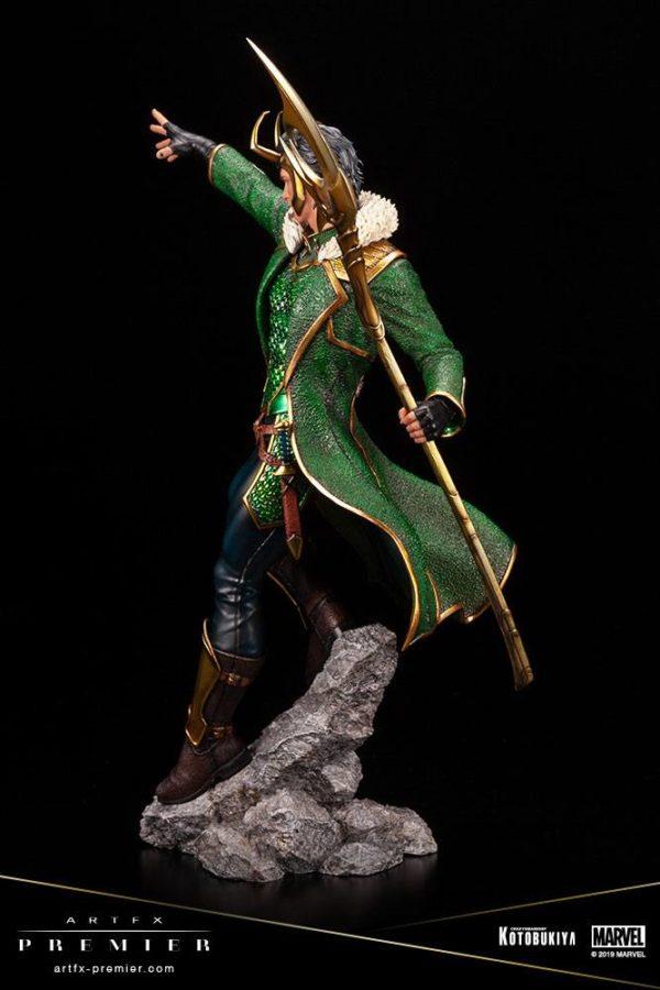 LOKI STATUETTE ARTFX PREMIER 1-10 MARVEL UNIVERSE KOTOBUKIYA 28 CM (8) 4934054013081 kingdom-figurine.fr
