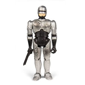 ROBOCOP BATTLE DAMAGED FIGURINE RE-ACTION SUPER7 10 CM 840049800557 kingdom-figurine.fr
