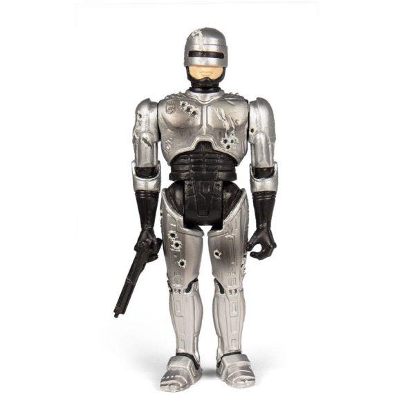 ROBOCOP BATTLE DAMAGED FIGURINE RE-ACTION SUPER7 10 CM 840049800557 kingdom-figurine.fr