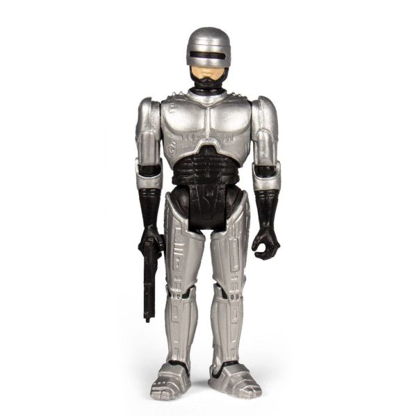 ROBOCOP FIGURINE RE-ACTION SUPER7 10 CM 840049800496 kingdom-figurine.fr