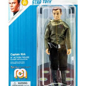 STAR TREK TOS FIGURINE CAPTAIN KIRK DRESS UNIFORM MEGO 20 CM (1) 850002478808 kingdom-figurine.fr