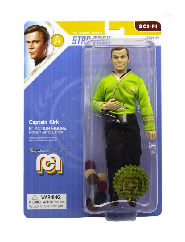 STAR TREK TOS FIGURINE CAPTAIN KIRK THE TROUBLE WITH TRIBBLES MEGO 20 CM (2) MEGO62976 kingdom-figurine.fr