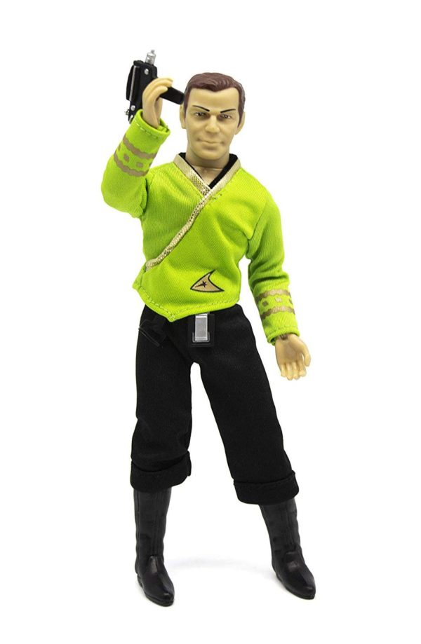 STAR TREK TOS FIGURINE CAPTAIN KIRK THE TROUBLE WITH TRIBBLES MEGO 20 CM MEGO62976 kingdom-figurine.fr