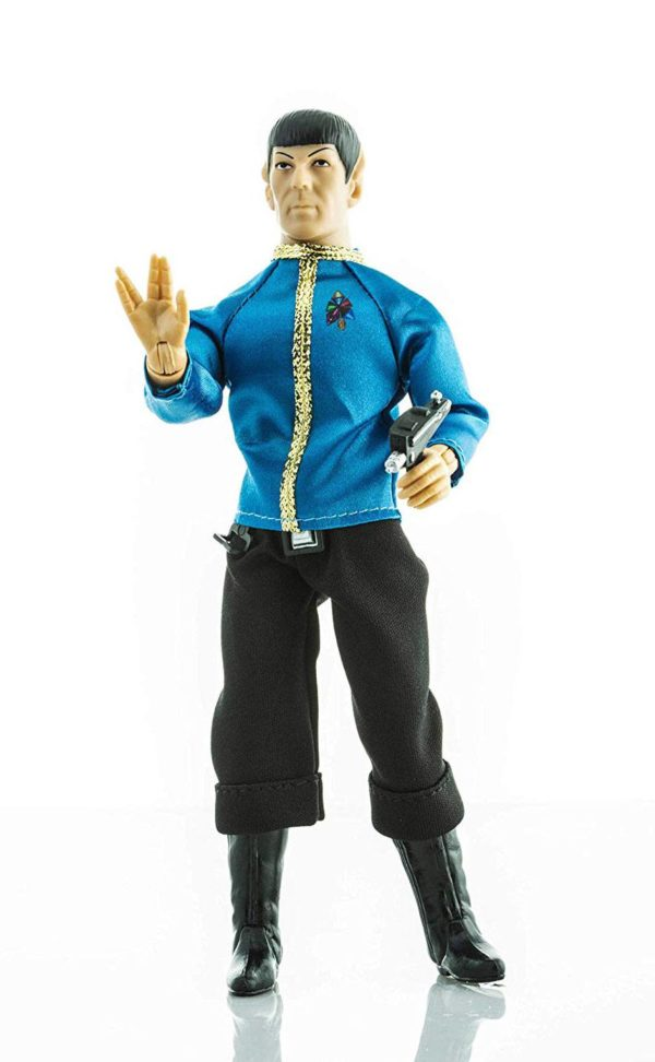 STAR TREK TOS FIGURINE MR. SPOCK DRESS UNIFORM MEGO 20 CM (1) 850002478815 kingdom-figurine.fr