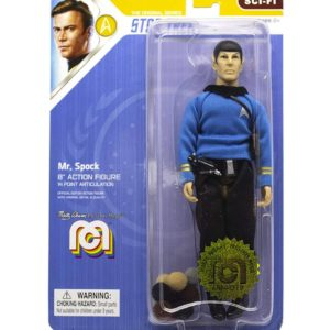 STAR TREK TOS FIGURINE MR. SPOCK THE TROUBLE WITH TRIBBLES MEGO 20 CM (2) MEGO62977 kingdom-figurine.fr