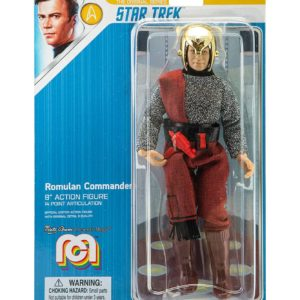 STAR TREK TOS FIGURINE ROMULAN COMMANDER MEGO 20 CM (2) 852404008973 kingdom-figurine.fr