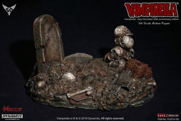 VAMPIRELLA BY JOSE GONZALES FIGURINE 1-6 VAMPIRELLA 50TH ANNIVERSARY EDITION EXCUTIVE REPLICAS (11) 614614988809 kingdom-figurine.fr