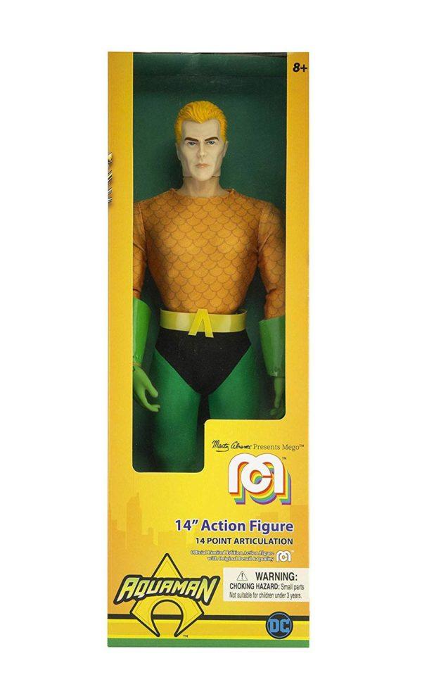 AQUAMAN CLASSIC FIGURINE DC COMICS MEGO 36 CM (1) 850002478136 kingdom-figurine.fr
