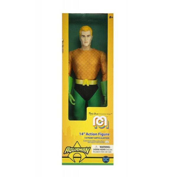 AQUAMAN CLASSIC FIGURINE DC COMICS MEGO 36 CM 850002478136 kingdom-figurine.fr