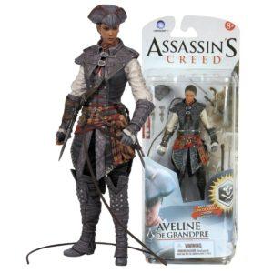 AVELINE DE GRANDPRÉ FIGURINE ASSASSIN'S CREED SERIE 2 McFARLANE TOYS 15 CM 787926810240 kingdom-figurine.fr