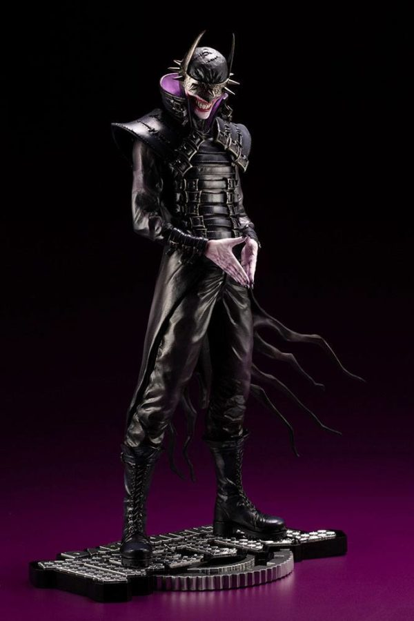 BATMAN WHO LAUGHS STATUETTE 1-6 ARTFX DC COMICS ELSEWORD SERIES KOTOBUKIYA 33 CM (2) 4934054013975 kingdom-figurine.fr