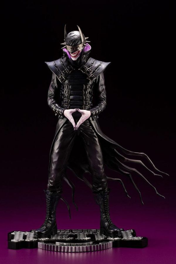 BATMAN WHO LAUGHS STATUETTE 1-6 ARTFX DC COMICS ELSEWORD SERIES KOTOBUKIYA 33 CM (3) 4934054013975 kingdom-figurine.fr