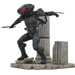 BLACK MANTA STATUETTE AQUAMAN DC MOVIE GALLERY DIAMOND SELECT TOYS 23 CM (1) 699788839812 kingdom-figurine.fr