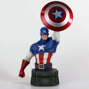 CAPTAIN AMERICA BUSTE MARVEL SEMIC 26 CM (1) 3760226377108 kingdom-figurine.fr