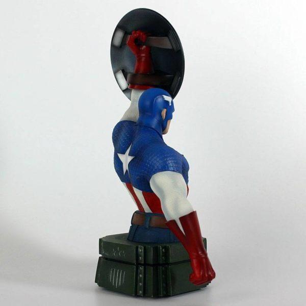 CAPTAIN AMERICA BUSTE MARVEL SEMIC 26 CM (5) 3760226377108 kingdom-figurine.fr