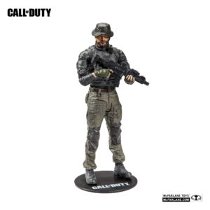 CAPTAIN JOHN PRICE FIGURINE CALL OF DUTY McFARLANE TOYS 18 CM (1) 787926104172 kingdom-figurine.fr
