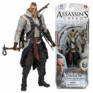 CONNOR WITH MOHAWK FIGURINE ASSASSIN'S CREED SERIE 2 McFARLANE TOYS 15 CM 787926810233 kingdom-figurine.fr