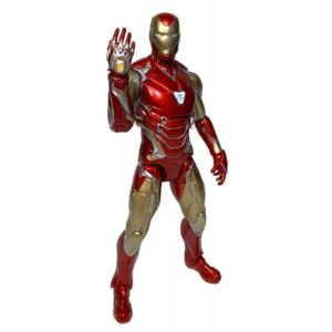 IRON MAN MARK 85 FIGURINE AVENGERS ENDGAME MARVEL SELECT DIAMOND SELECT TOYS 18 CM 699788834862 kingdom-figurine.fr