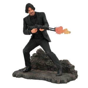 JOHN WICK STATUETTE CATACOMBS JOHN WICK GALLERY DIAMOND SELECT 23 CM (1) 699788833490 kingdom-figurine.fr