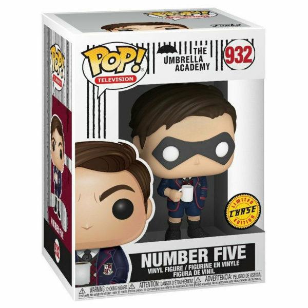 NUMBER FIVE CHASE FIGURINE THE UMBRELLA ACADEMY POP TV FUNKO 932 88969844514C kingdom-figurine.fr