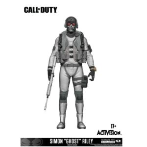 SIMON GHOST RILEY VARIANT EXCLUSIVE FIGURINE CALL OF DUTY McFARLANE TOYS 15 CM 787926104059 kingdom-figurine.fr