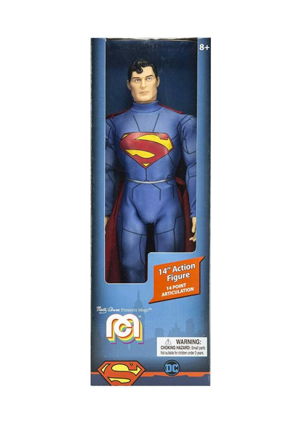 SUPERMAN NEW 52 FIGURINE DC COMICS MEGO 36 CM (1) 850002478907 kingdom-figurine.fr