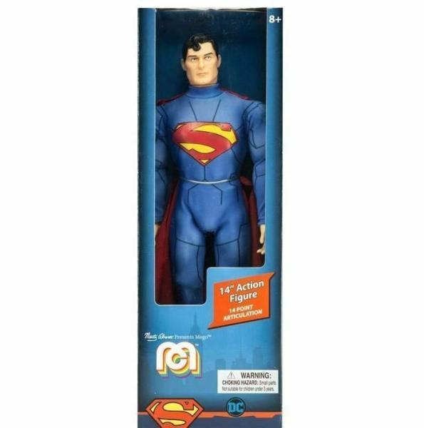 SUPERMAN NEW 52 FIGURINE DC COMICS MEGO 36 CM 850002478907 kingdom-figurine.fr