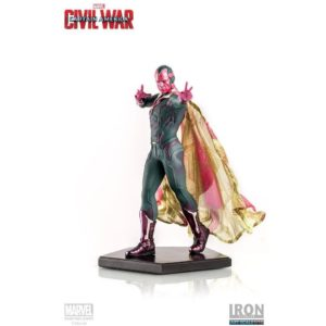 VISION STATUETTE 1-10 CAPTAIN AMERICA CIVIL WAR MARVEL IRON STUDIOS 20 CM 0742832353021 kingdom-figurine.fr