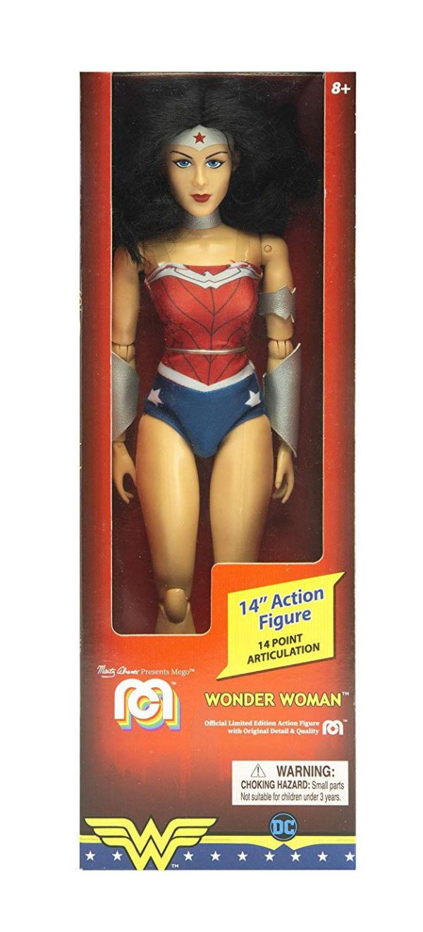 WONDER WOMAN NEW 52 FIGURINE DC COMICS MEGO 36 CM (1) 850002478181 kingdom-figurine.fr