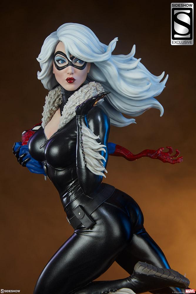 Statue Sideshow de Black Cat