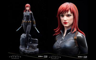"Statue Black Widow : première de la gamme ""Woman of Marvel"""