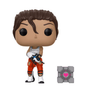 CHELL FIGURINE PORTAL 2 POP GAMES 243 FUNKO 889698210409 (1) kingdom-figurine.fr