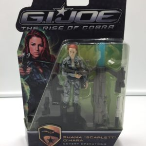 G.I. JOE THE RISE OF COBRA FIGURINE SHANA SCARLETT O'HARA COVERT OPERATIONS HASBRO (1) 5010994395421 kingdom-figurine.fr