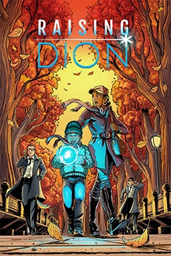 Couverture du comics Raising Dion