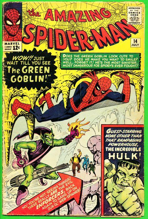 Green Goblin apparaît pour la première fois en 1964