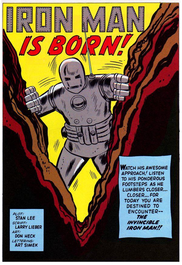 Les premières versions du héros des comics Marvel