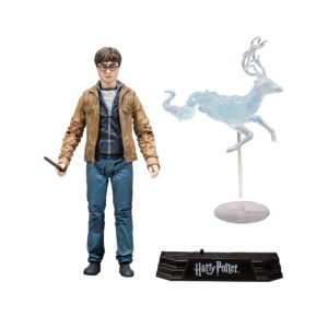 HARRY POTTER FIGURINE HARRY POTTER ET LES RELIQUES DE LA MORT McFARLANE TOYS 15 CM (1) 787926133011 kingdom-figurine.fr