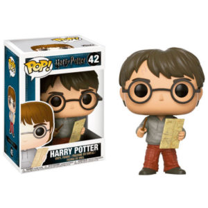 HARRY POTTER WITH MARAUDERS MAP FIGURINE POP MOVIE HARRY POTTER FUNKO 42 (1) 889698149365 kingdom-figurine.fr