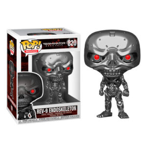 REV-9 ENDOSKELETON FIGURINE POP MOVIE TERMINATOR DARK FATE FUNKO 820 (1) 889698435031 kingdom-figurine.fr