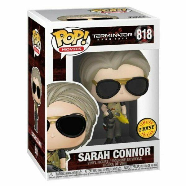 SARAH CONNOR CHASE FIGURINE POP MOVIE TERMINATOR DARK FATE FUNKO 818 (1) 889698435024C kingdom-figurine.fr