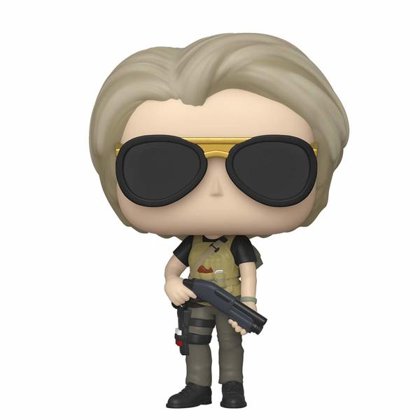 SARAH CONNOR FIGURINE POP MOVIE TERMINATOR DARK FATE FUNKO 818 (2) 889698435024 kingdom-figurine.fr