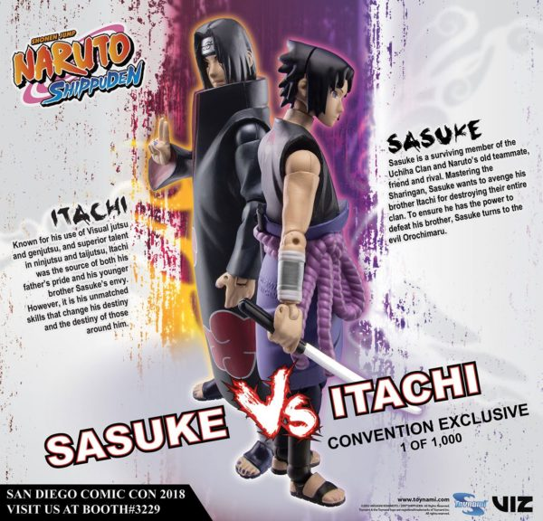 SASUKE VS ITACHI PACK 2 FIGURINES NARUTO SHIPPUDEN EXCLUSIVE SDDC 2018 TOYNAMI 10 CM (2) 819872011645 kingdom-figurine.fr