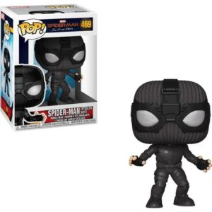 SPIDER-MAN STEALTH SUIT FIGURINE POP MARVEL 469 SPIDER-MAN FAR FROM HOME FUNKO 889698392082 kingdom-figurine.fr