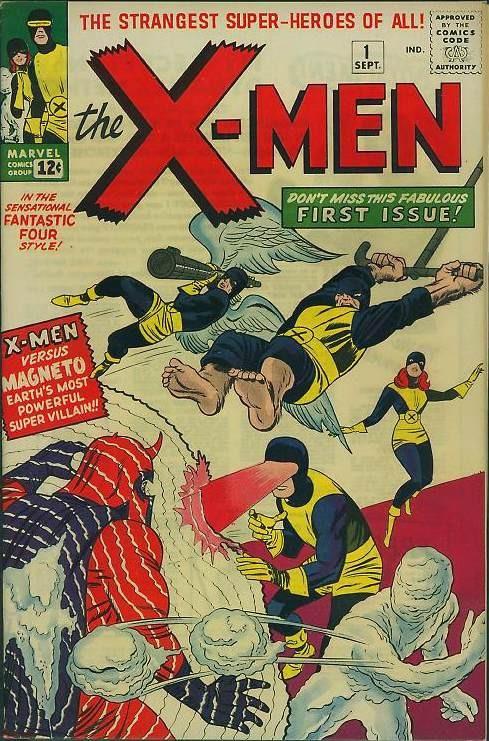 Couverture The Uncanny X-Men 1963