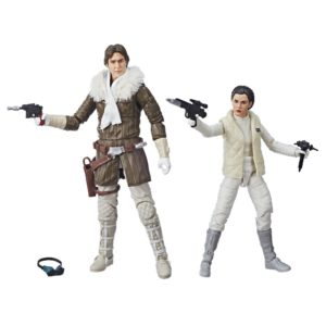 LEIA & HAN (HOTH) PACK 2 FIGURINES BLACK SERIES STAR WARS EPISODE V EXCLUSIVE CONVENTION HASBRO (1) 5010993541973 kingdom-figurine.fr