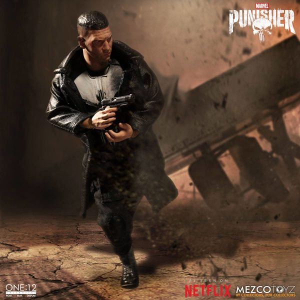 PUNISHER (TV SERIES) FIGURINE 1-12 MARVEL UNIVERSE ONE 12 MEZCO TOYS 17 CM (13) 696198767803 kingdom-figurine.fr