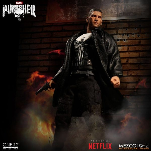 PUNISHER (TV SERIES) FIGURINE 1-12 MARVEL UNIVERSE ONE 12 MEZCO TOYS 17 CM (6) 696198767803 kingdom-figurine.fr