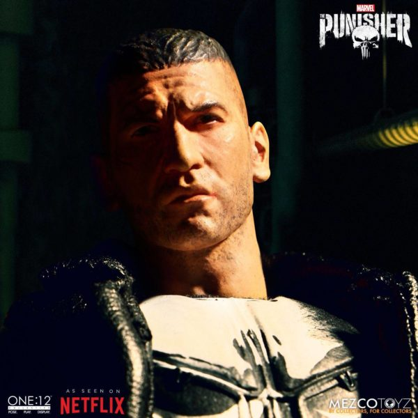 PUNISHER (TV SERIES) FIGURINE 1-12 MARVEL UNIVERSE ONE 12 MEZCO TOYS 17 CM (7) 696198767803 kingdom-figurine.fr
