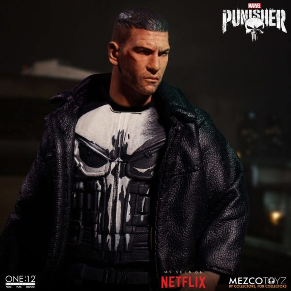 PUNISHER (TV SERIES) FIGURINE 1-12 MARVEL UNIVERSE ONE 12 MEZCO TOYS 17 CM (8) 696198767803 kingdom-figurine.fr