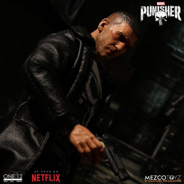 PUNISHER (TV SERIES) FIGURINE 1-12 MARVEL UNIVERSE ONE 12 MEZCO TOYS 17 CM (9) 696198767803 kingdom-figurine.fr